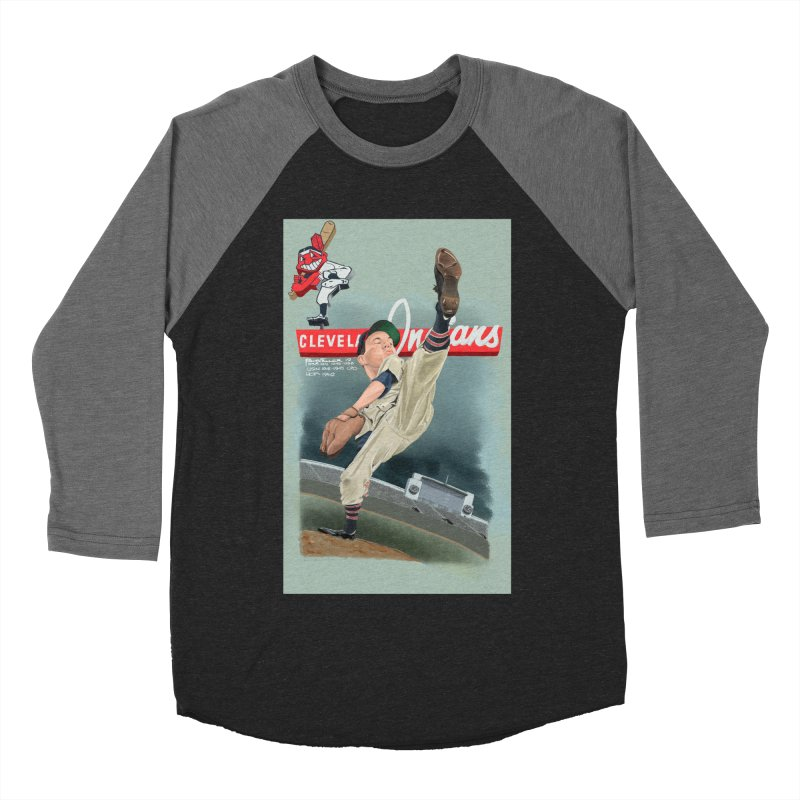 Bob Feller MLB HOF Men's Baseball Triblend T-Shirt by goofyink's Artist Shop