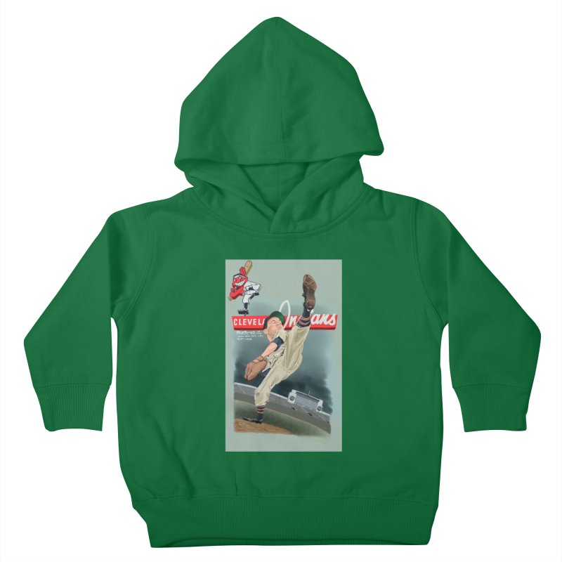 Bob Feller MLB HOF Kids Toddler Pullover Hoody by goofyink's Artist Shop