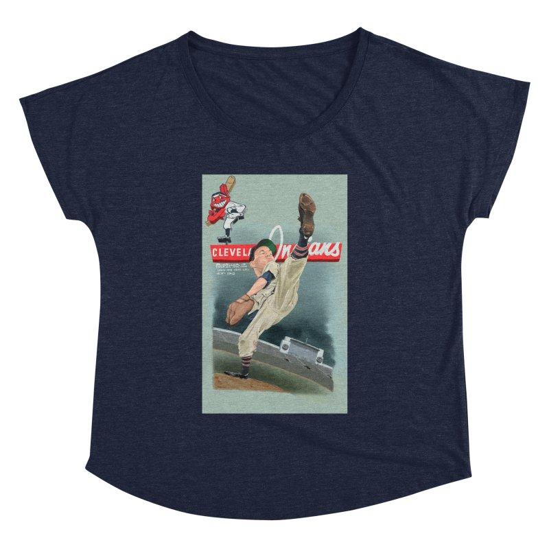 Bob Feller MLB HOF Women's Dolman by goofyink's Artist Shop