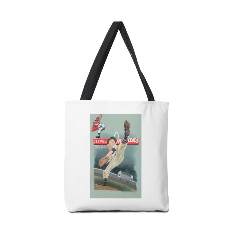 Bob Feller MLB HOF Accessories Bag by goofyink's Artist Shop