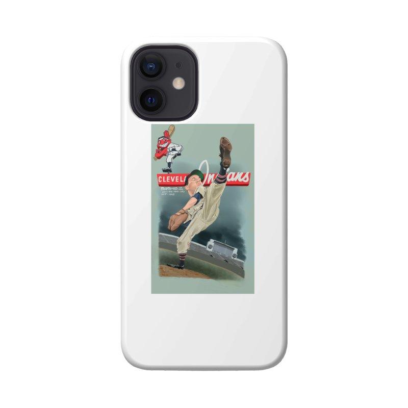 Bob Feller MLB HOF Accessories Phone Case by goofyink's Artist Shop