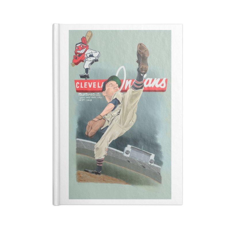 Bob Feller MLB HOF Accessories Notebook by goofyink's Artist Shop