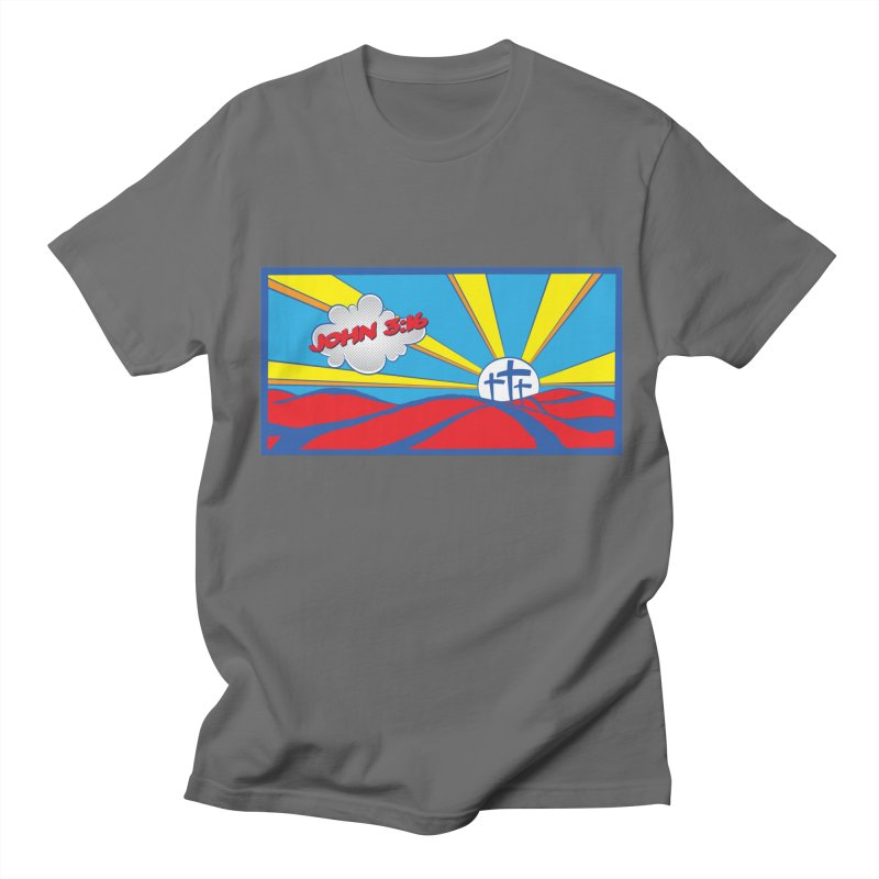 John 3:16 Pop Art Women's T-Shirt by goofyink's Artist Shop