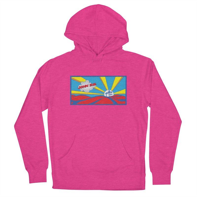 John 3:16 Pop Art Women's Pullover Hoody by goofyink's Artist Shop