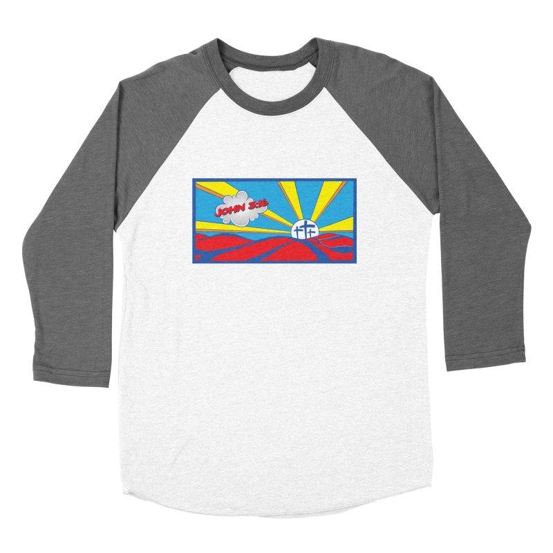 John 3:16 Pop Art Women's Longsleeve T-Shirt by goofyink's Artist Shop