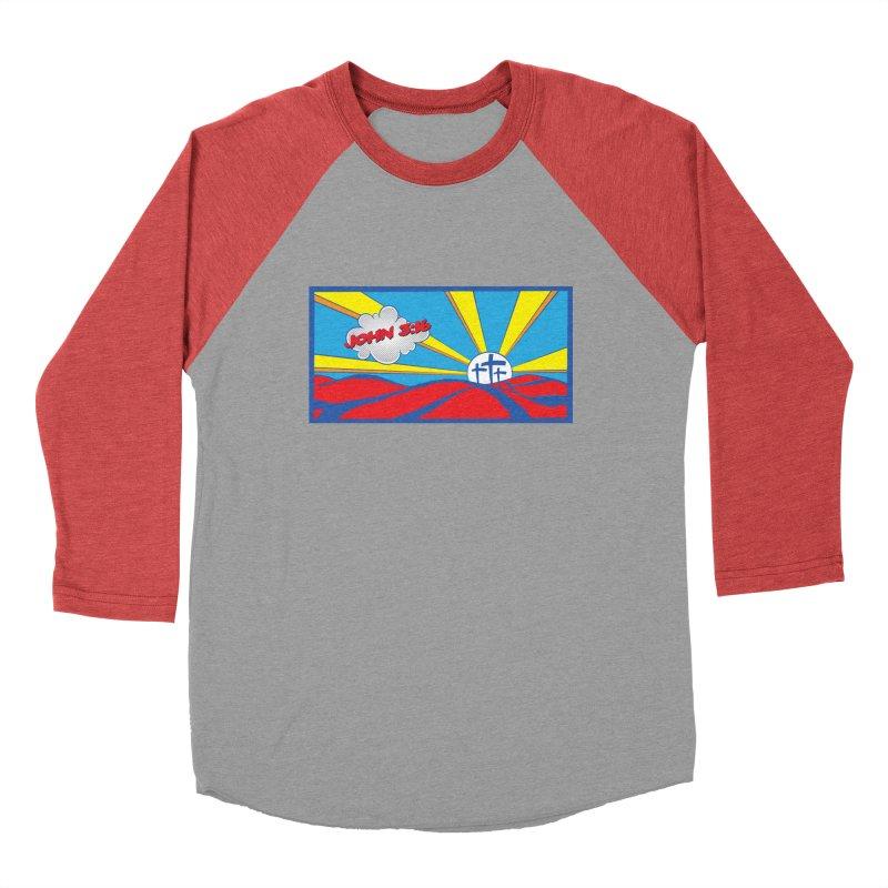 John 3:16 Pop Art Men's Longsleeve T-Shirt by goofyink's Artist Shop