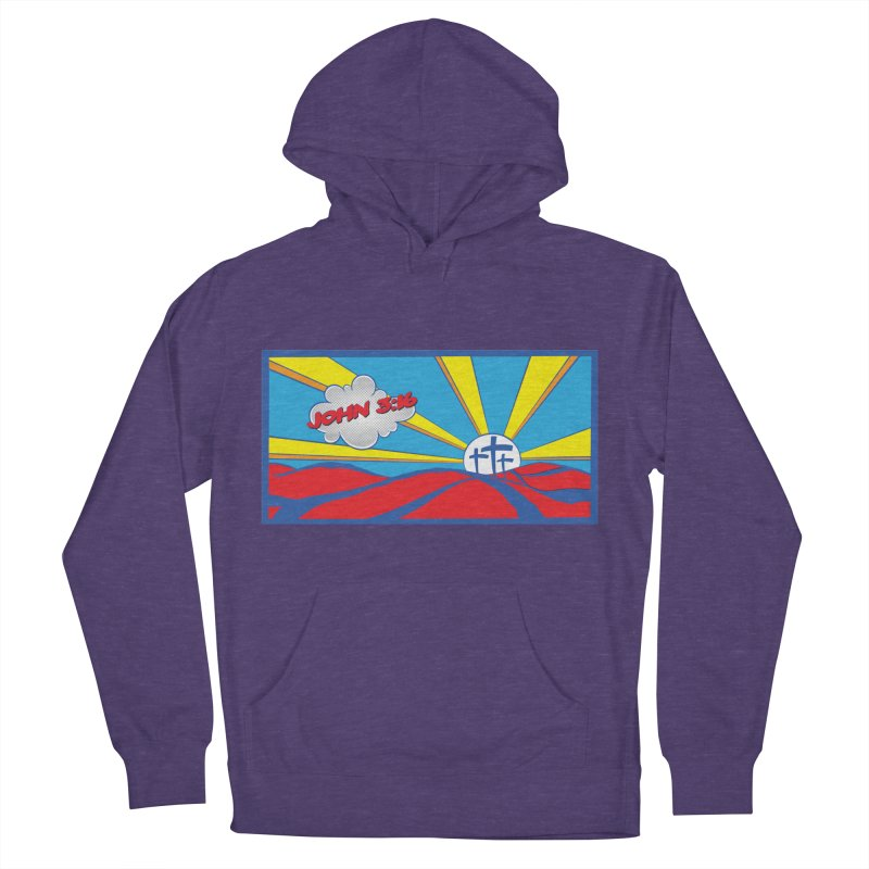John 3:16 Pop Art Women's Pullover Hoody by goofyink's Artist Shop