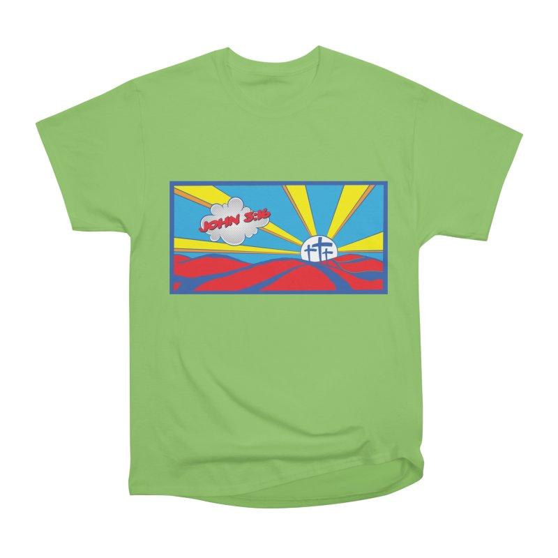 John 3:16 Pop Art Women's Heavyweight Unisex T-Shirt by goofyink's Artist Shop