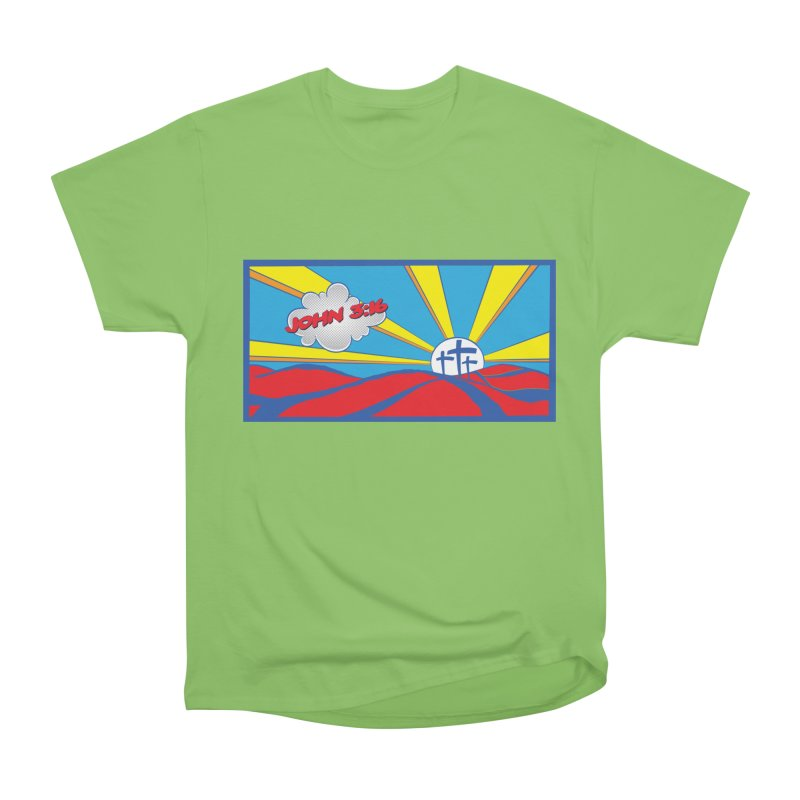 John 3:16 Pop Art Men's Heavyweight T-Shirt by goofyink's Artist Shop
