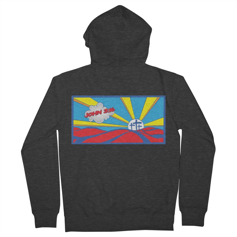 John 3:16 Pop Art Women's Zip-Up Hoody by goofyink's Artist Shop