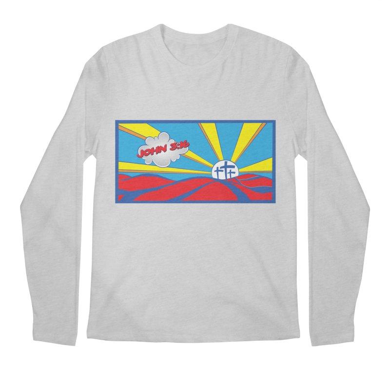 John 3:16 Pop Art Men's Regular Longsleeve T-Shirt by goofyink's Artist Shop