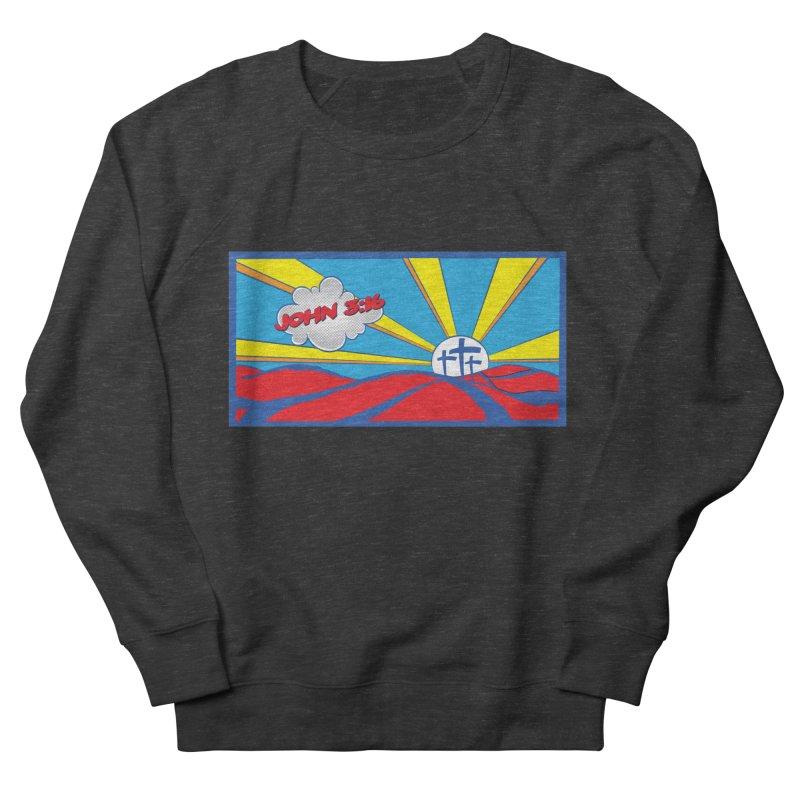 John 3:16 Pop Art Women's Sweatshirt by goofyink's Artist Shop