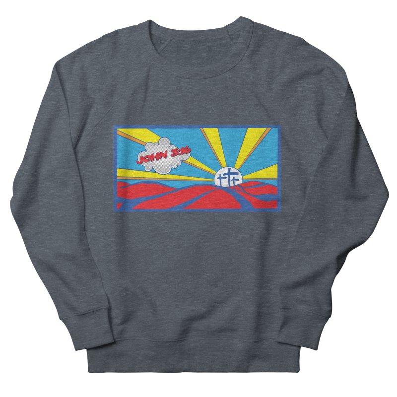 John 3:16 Pop Art Men's French Terry Sweatshirt by goofyink's Artist Shop