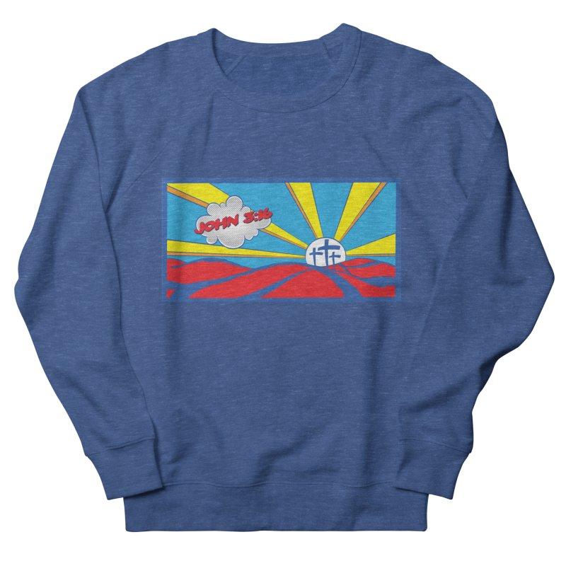 John 3:16 Pop Art Men's Sweatshirt by goofyink's Artist Shop