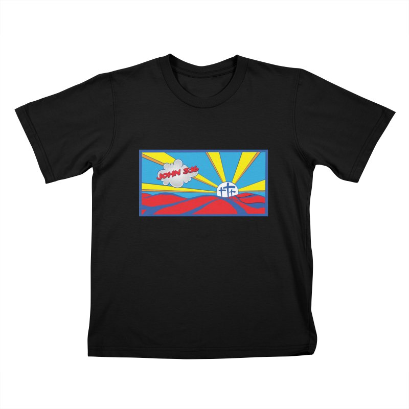 John 3:16 Pop Art Kids T-Shirt by goofyink's Artist Shop