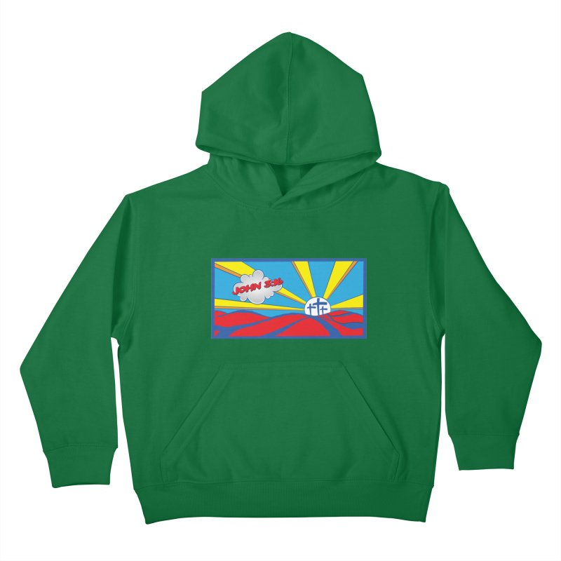 John 3:16 Pop Art Kids Pullover Hoody by goofyink's Artist Shop