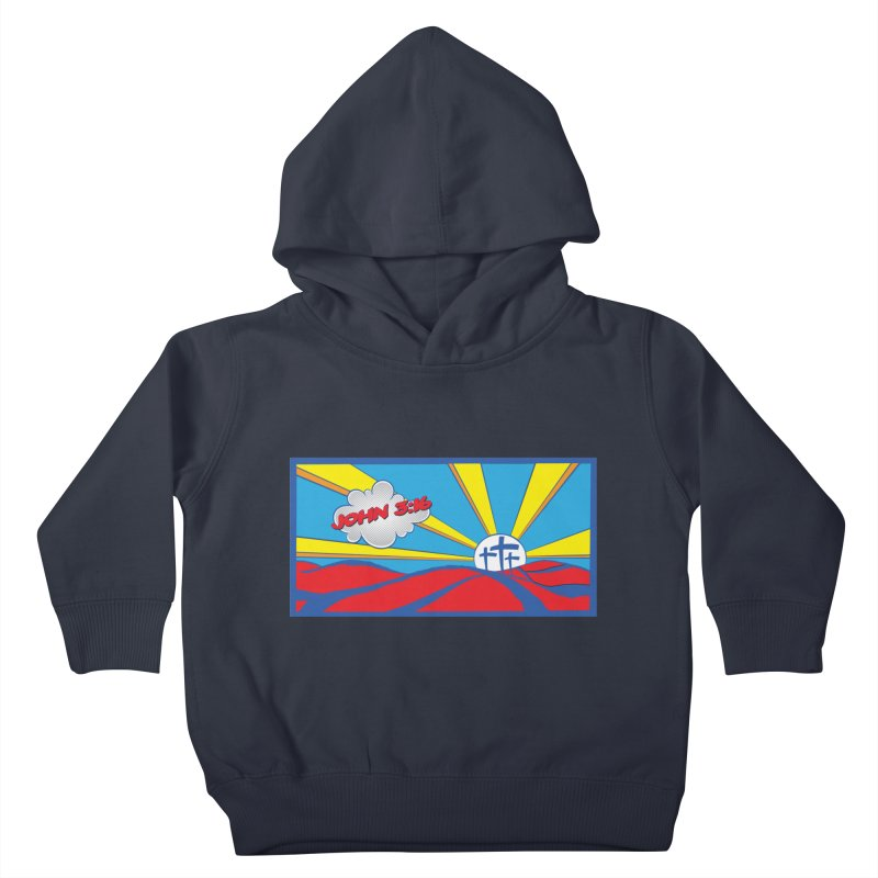 John 3:16 Pop Art Kids Toddler Pullover Hoody by goofyink's Artist Shop