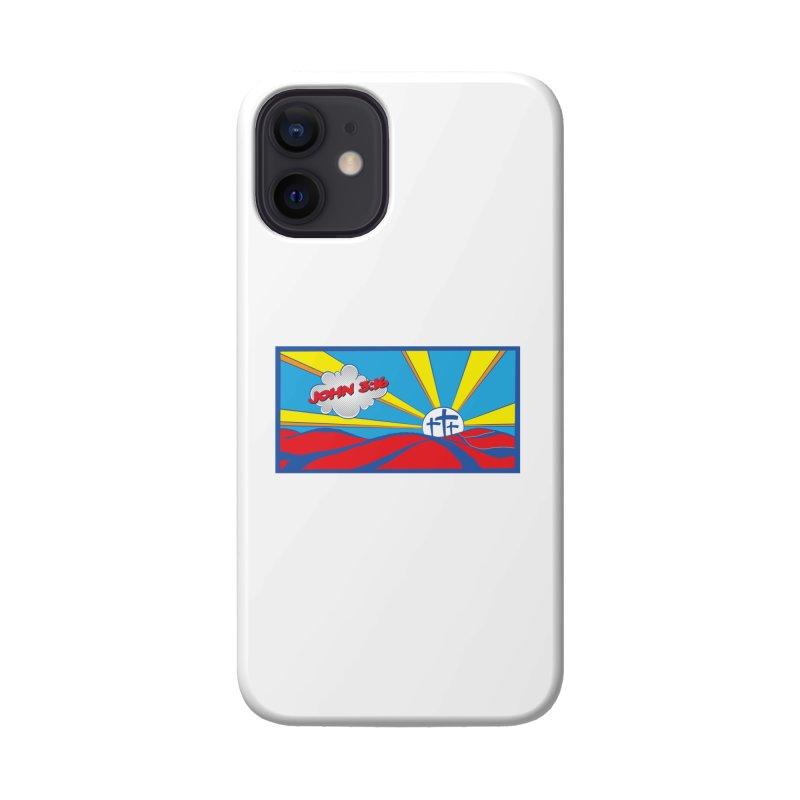 John 3:16 Pop Art Accessories Phone Case by goofyink's Artist Shop