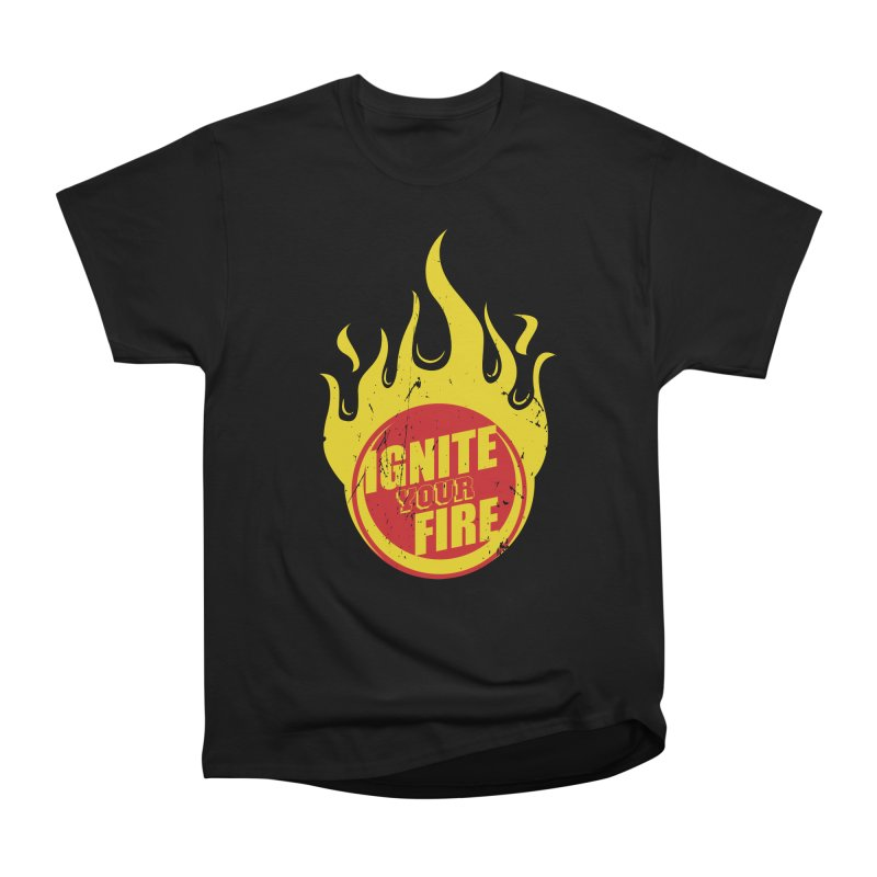 Ignite your fire Men's Heavyweight T-Shirt by goofyink's Artist Shop