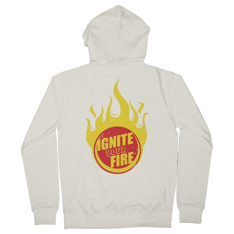 Ignite your fire Men's Zip-Up Hoody by goofyink's Artist Shop