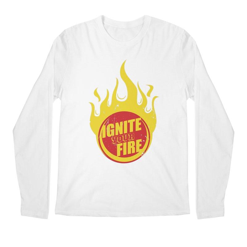 Ignite your fire Men's Regular Longsleeve T-Shirt by goofyink's Artist Shop