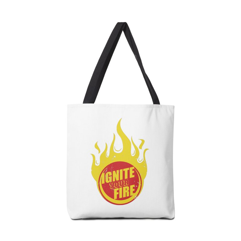 Ignite your fire Accessories Bag by goofyink's Artist Shop