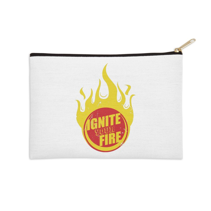 Ignite your fire Accessories Zip Pouch by goofyink's Artist Shop
