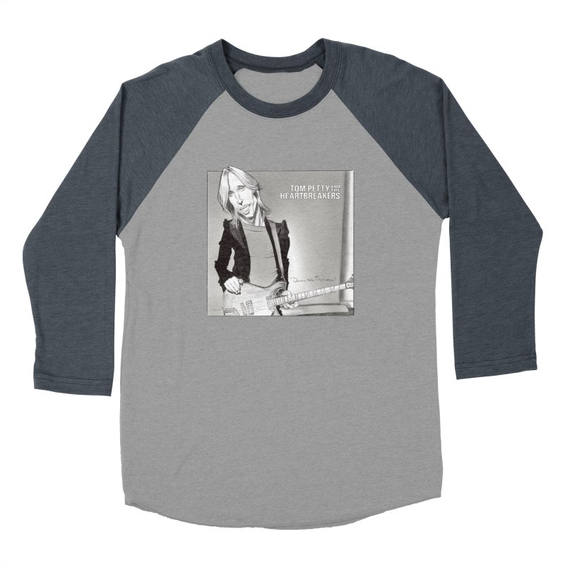 Tom Petty Women's Longsleeve T-Shirt by goofyink's Artist Shop