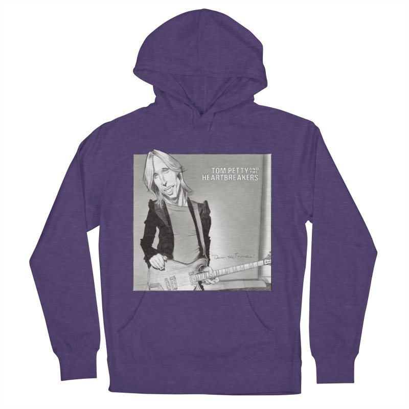 Tom Petty Women's French Terry Pullover Hoody by goofyink's Artist Shop