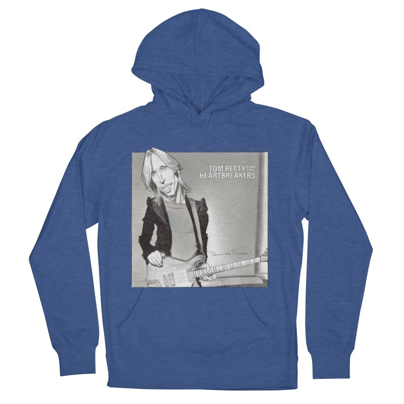 Tom Petty Men's French Terry Pullover Hoody by goofyink's Artist Shop