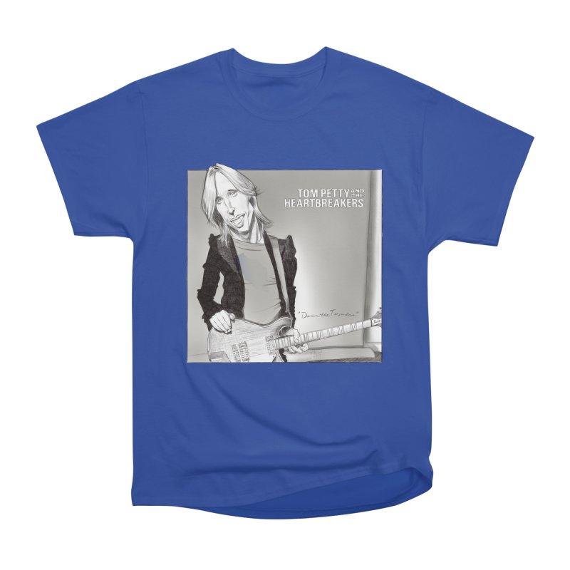Tom Petty Women's Heavyweight Unisex T-Shirt by goofyink's Artist Shop