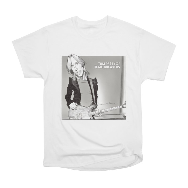 Tom Petty Women's Heavyweight Unisex T-Shirt by goofyink's Artist Shop