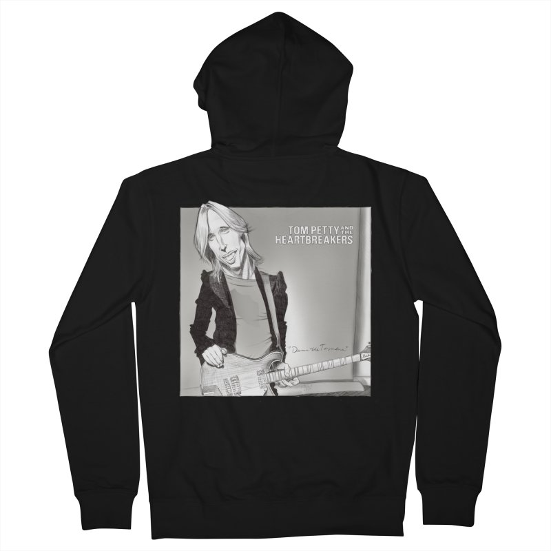 Tom Petty Women's Zip-Up Hoody by goofyink's Artist Shop