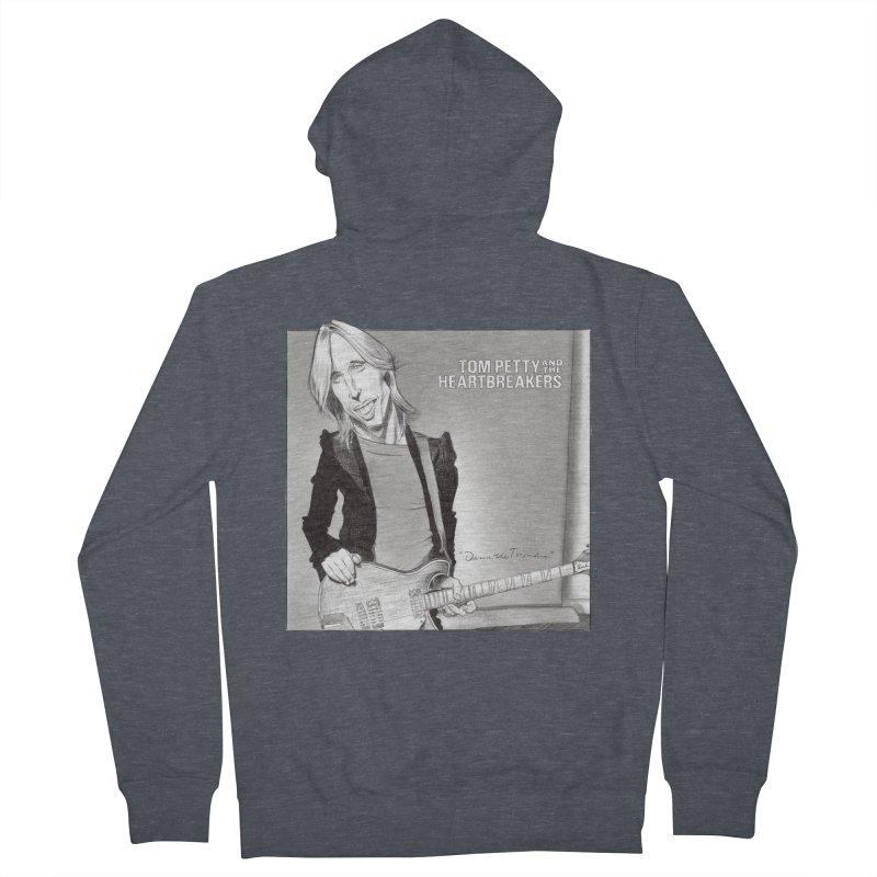 Tom Petty Men's Zip-Up Hoody by goofyink's Artist Shop