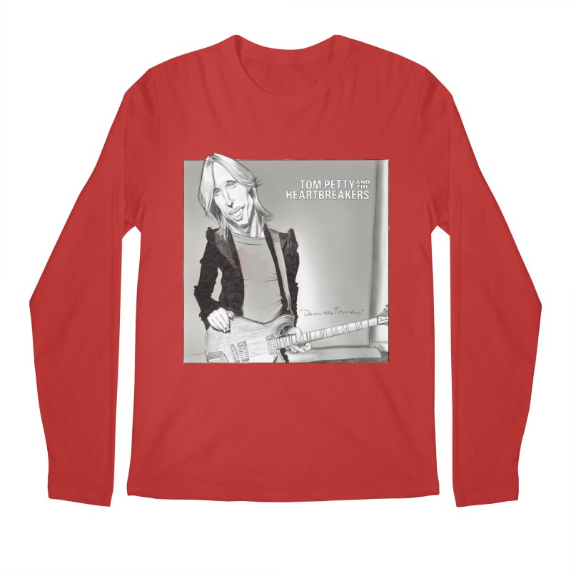 Tom Petty Men's Regular Longsleeve T-Shirt by goofyink's Artist Shop