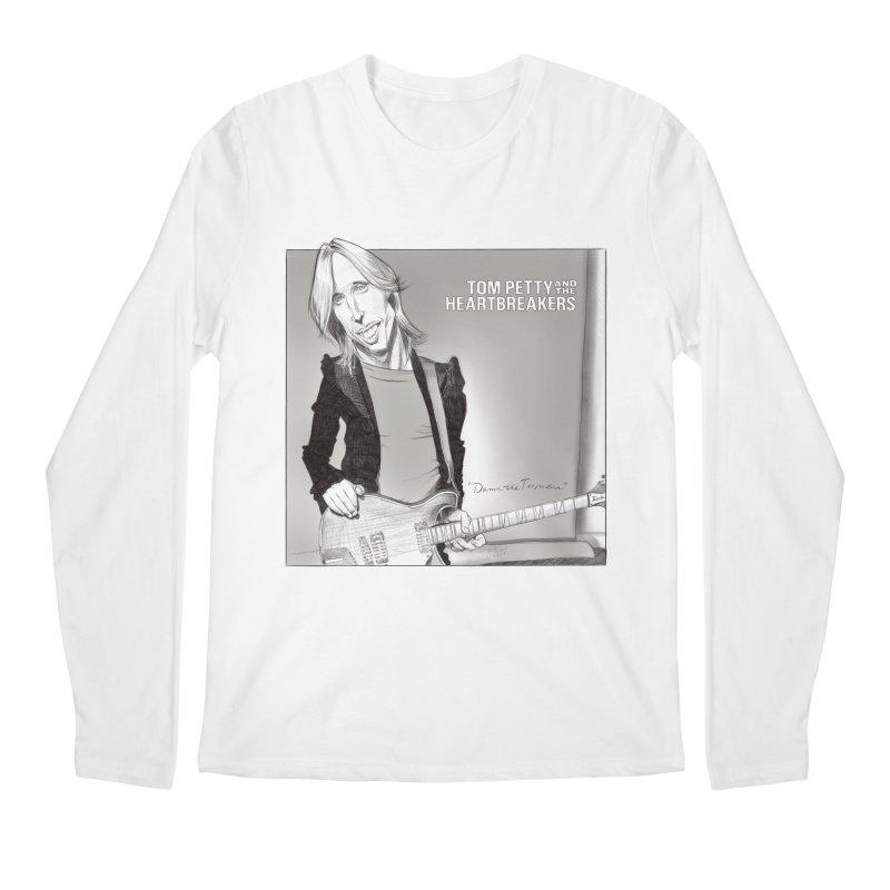 Tom Petty Men's Regular Longsleeve T-Shirt by goofyink's Artist Shop