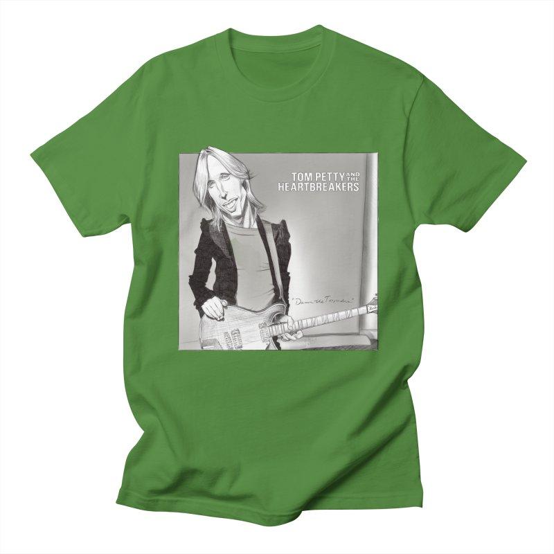 Tom Petty Men's T-Shirt by goofyink's Artist Shop