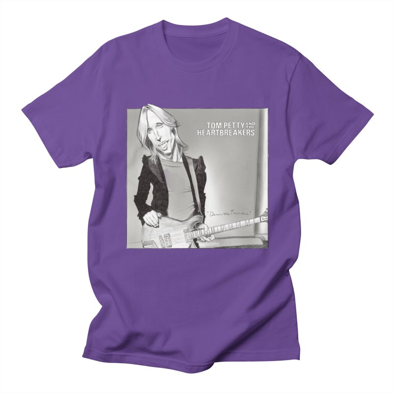 Tom Petty Women's Regular Unisex T-Shirt by goofyink's Artist Shop