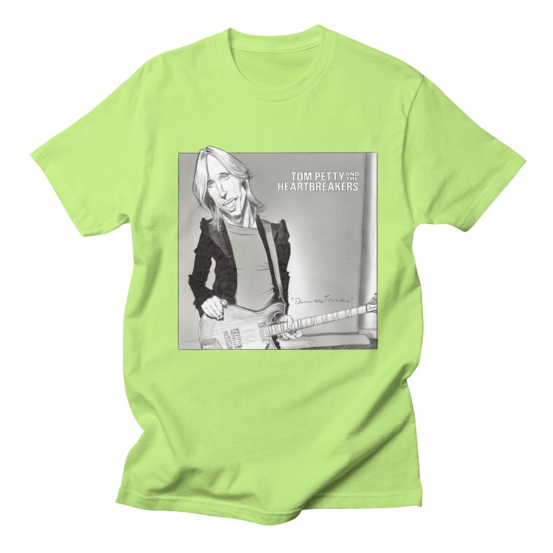 Tom Petty Women's Regular Unisex T-Shirt by goofyink's Artist Shop