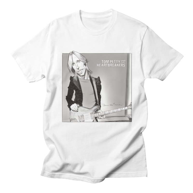 Tom Petty Men's Regular T-Shirt by goofyink's Artist Shop