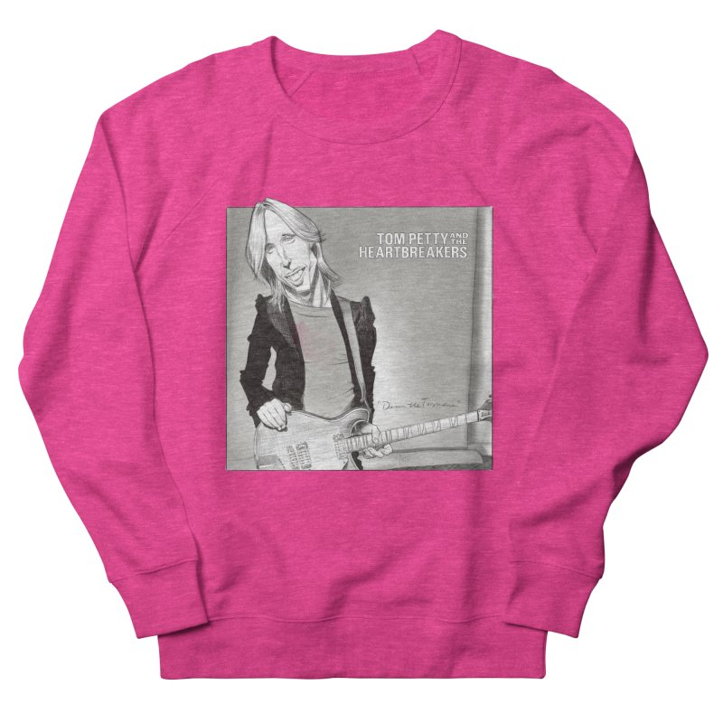 Tom Petty Men's French Terry Sweatshirt by goofyink's Artist Shop