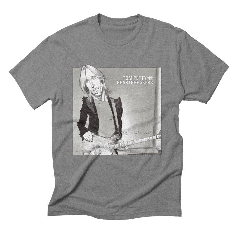 Tom Petty Men's Triblend T-Shirt by goofyink's Artist Shop