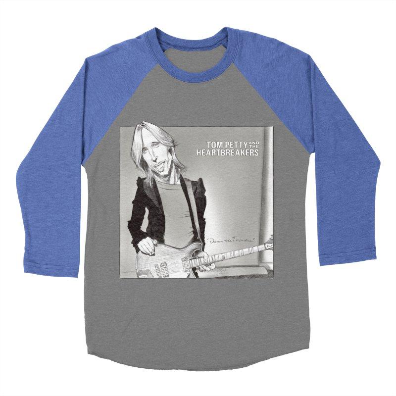 Tom Petty Women's Baseball Triblend T-Shirt by goofyink's Artist Shop