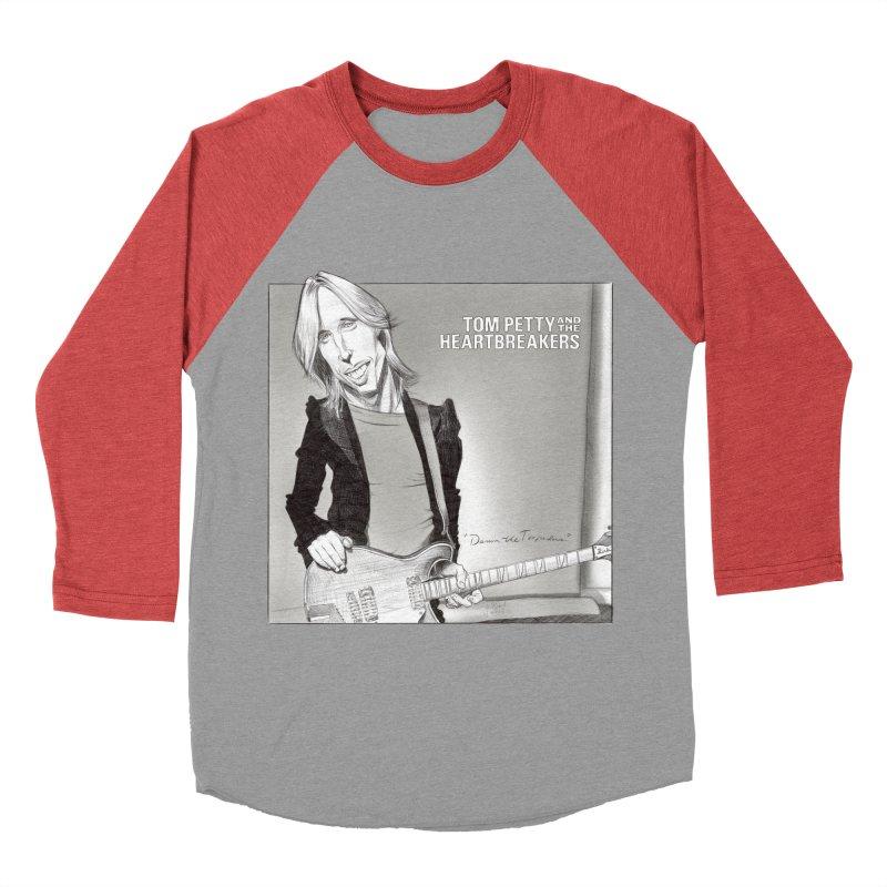 Tom Petty Women's Baseball Triblend Longsleeve T-Shirt by goofyink's Artist Shop