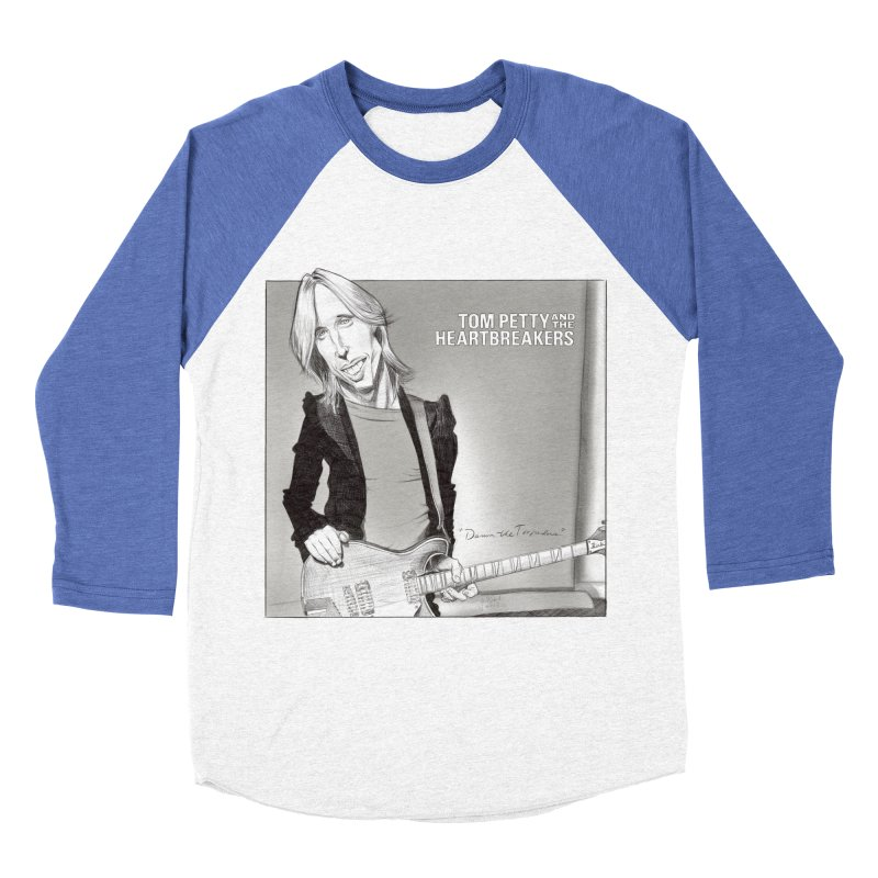 Tom Petty Men's Baseball Triblend Longsleeve T-Shirt by goofyink's Artist Shop