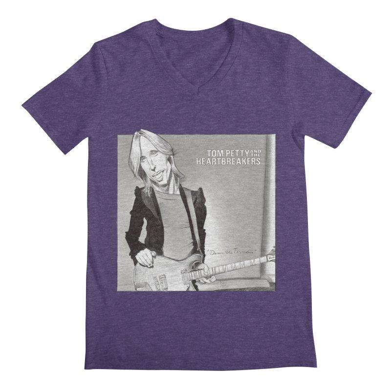 Tom Petty Men's V-Neck by goofyink's Artist Shop