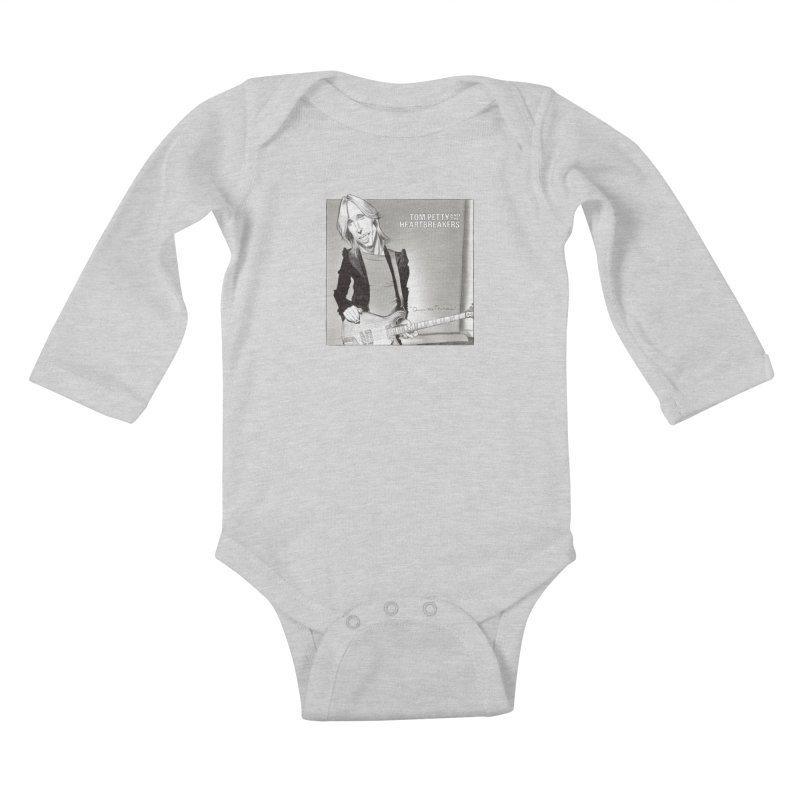 Tom Petty Kids Baby Longsleeve Bodysuit by goofyink's Artist Shop