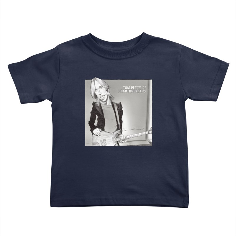 Tom Petty Kids Toddler T-Shirt by goofyink's Artist Shop