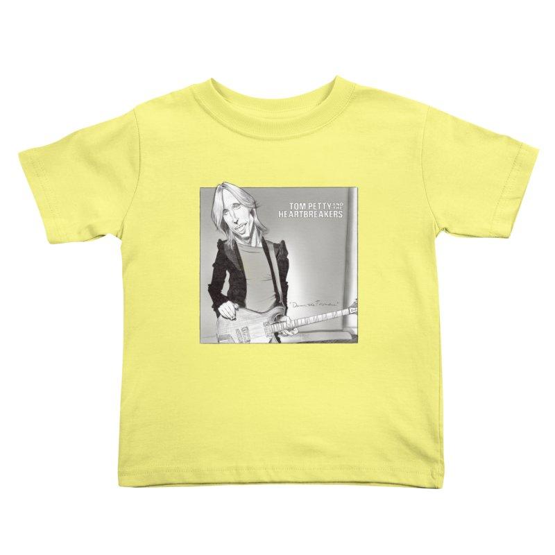 Tom Petty Kids Toddler T-Shirt by goofyink's Artist Shop