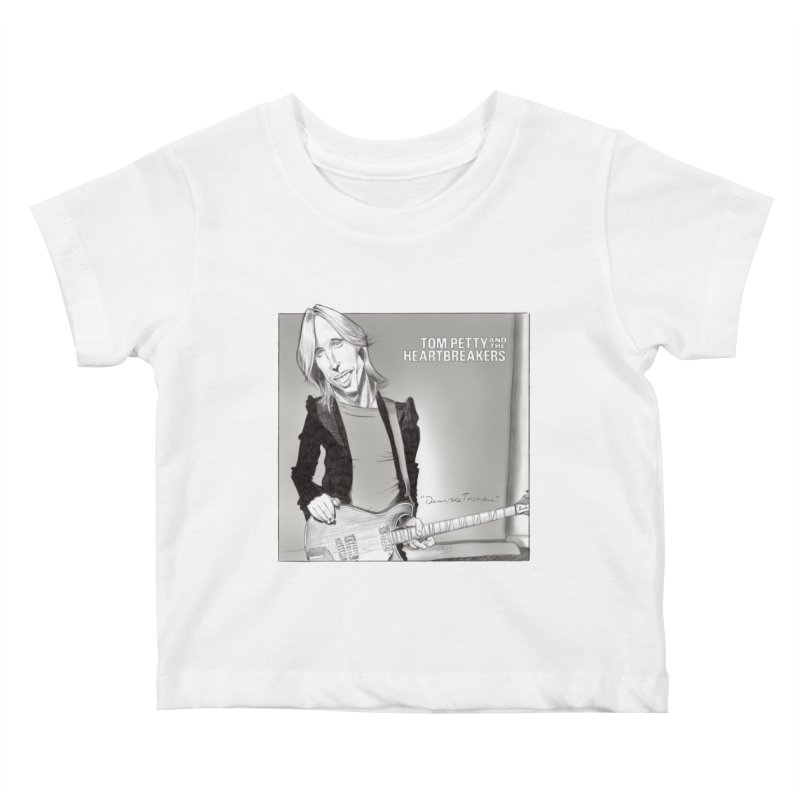 Tom Petty Kids Baby T-Shirt by goofyink's Artist Shop